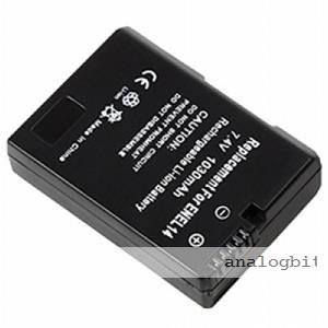 Baterija EN-EL14 za NIKON D3100 , D3200 , D5100 , D5200 , P7000
