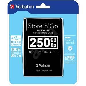 Externi Hard disk Verbatim 2,5